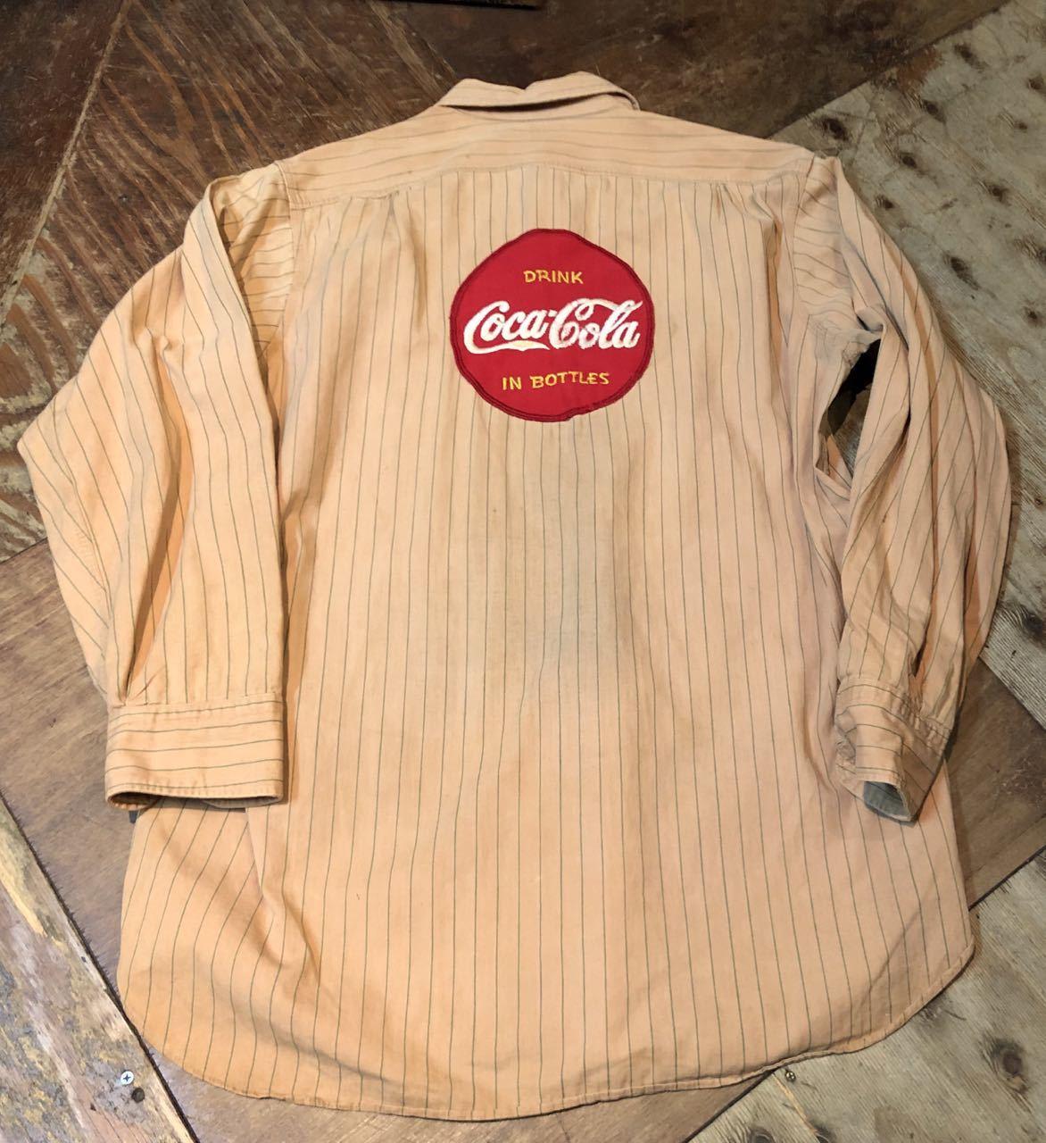 3月22日(日)入荷!40s マチ付き HBT Lee Coke Uniform ! コカコーラ ユニフォーム!_c0144020_18235880.jpg
