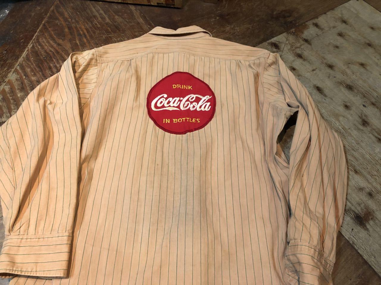 3月22日(日)入荷!40s マチ付き HBT Lee Coke Uniform ! コカコーラ ユニフォーム!_c0144020_18240013.jpg