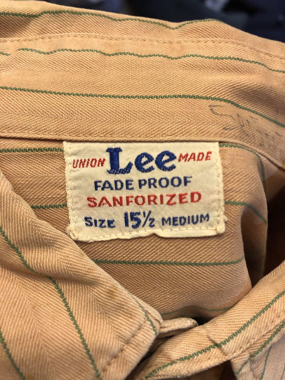 3月22日(日)入荷!40s マチ付き HBT Lee Coke Uniform ! コカコーラ ユニフォーム!_c0144020_18242319.jpg