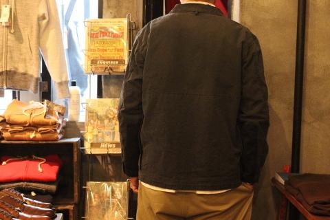 """「another 20th century」 独特なオーラを放つ\""""Coal Miner Jacket\"""" ご紹介_f0191324_08505911.jpg"""