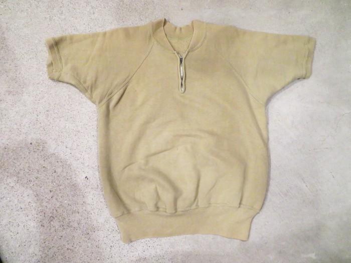 60\'s Half Zip S/S Sweatshirts ヴィンテージ 半袖スウェット_e0187362_16512873.jpg