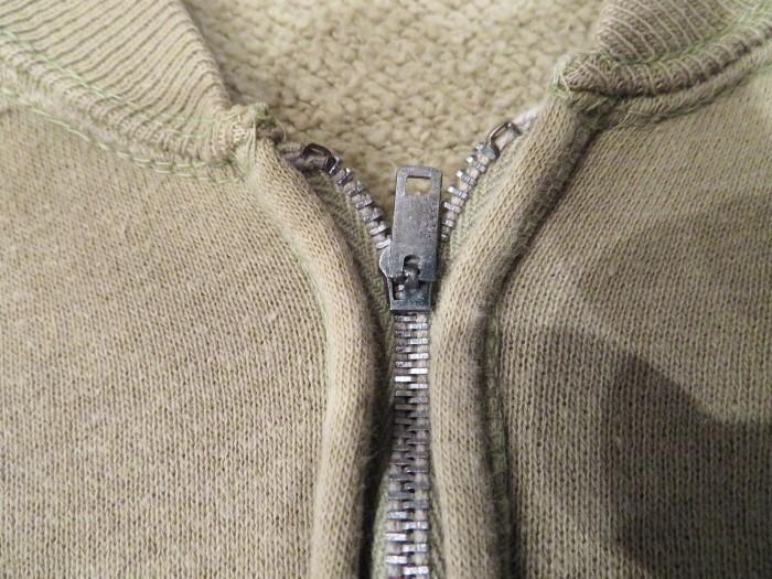 60\'s Half Zip S/S Sweatshirts ヴィンテージ 半袖スウェット_e0187362_16524370.jpg