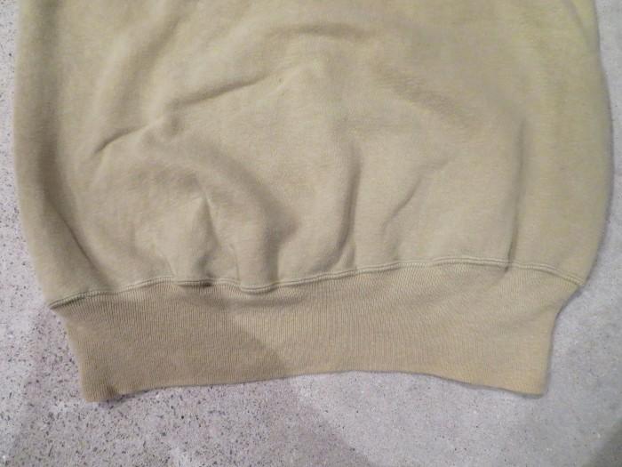 60\'s Half Zip S/S Sweatshirts ヴィンテージ 半袖スウェット_e0187362_16532087.jpg