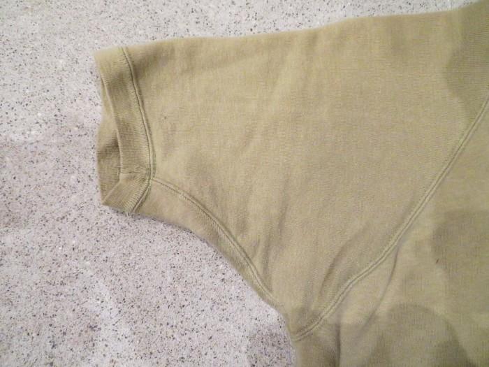 60\'s Half Zip S/S Sweatshirts ヴィンテージ 半袖スウェット_e0187362_16541808.jpg