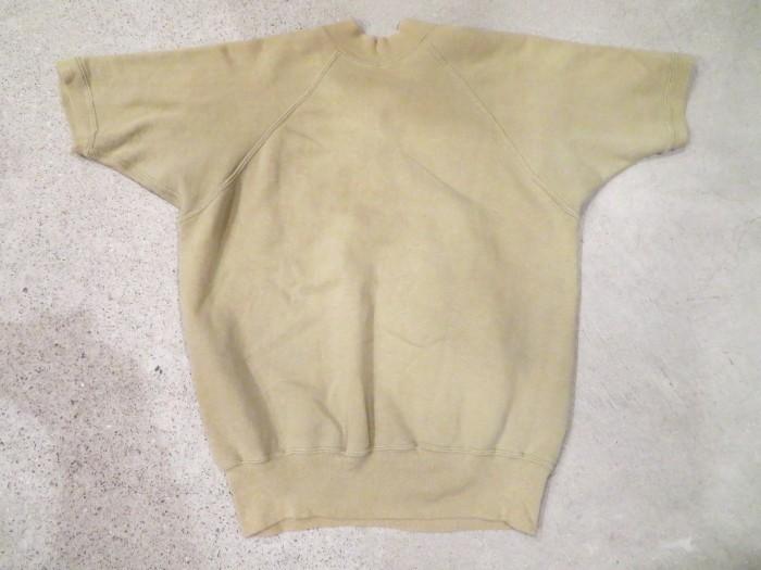 60\'s Half Zip S/S Sweatshirts ヴィンテージ 半袖スウェット_e0187362_16543670.jpg