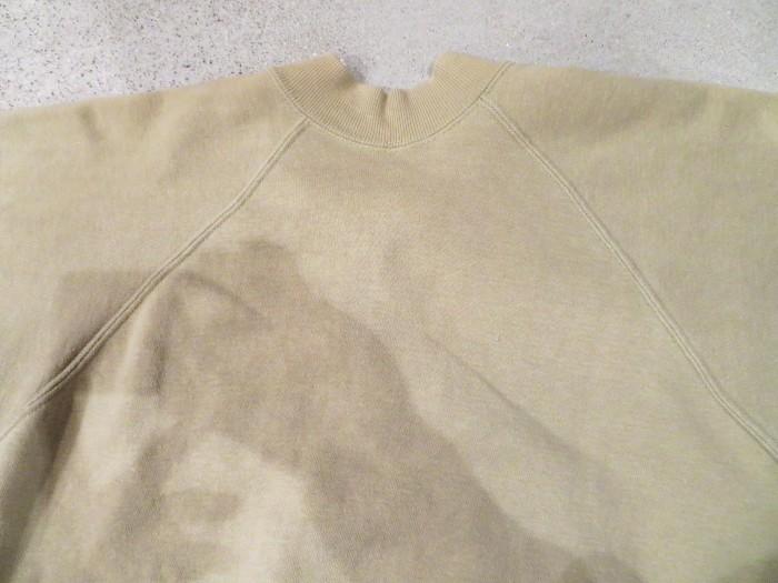60\'s Half Zip S/S Sweatshirts ヴィンテージ 半袖スウェット_e0187362_16545539.jpg