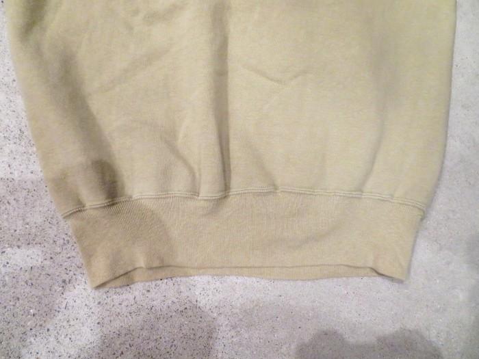 60\'s Half Zip S/S Sweatshirts ヴィンテージ 半袖スウェット_e0187362_16570952.jpg