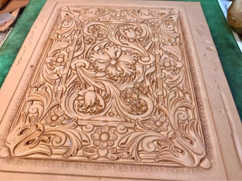2020 Prescott Carving Contest 出品作品の製作過程(その3)_a0228364_14452883.jpg