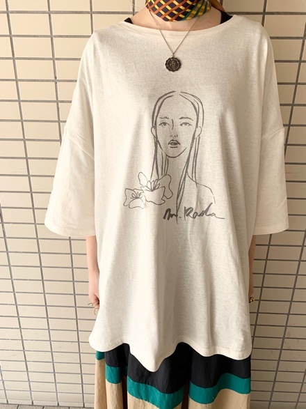 CHIGNONSTAR☆Girl print BIG T-SH☆彡_e0269968_16110618.jpg