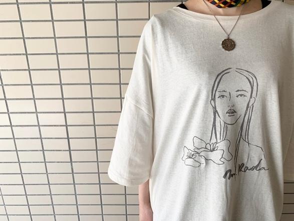 CHIGNONSTAR☆Girl print BIG T-SH☆彡_e0269968_16110891.jpg