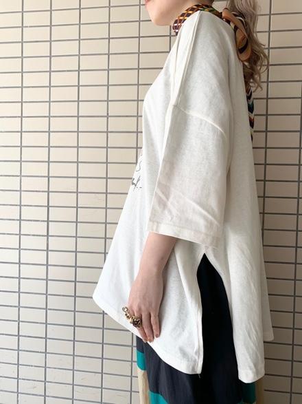 CHIGNONSTAR☆Girl print BIG T-SH☆彡_e0269968_16111701.jpg