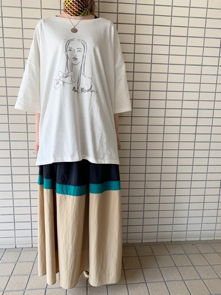 CHIGNONSTAR☆Girl print BIG T-SH☆彡_e0269968_16112241.jpg