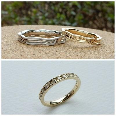 婚約指輪と結婚指輪 | 岡山_d0237570_15152111.jpg