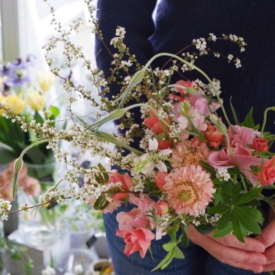 オークリーフ花の教室(大野さんの作品)_f0049672_20352299.jpg