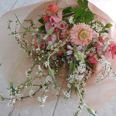 オークリーフ花の教室(大野さんの作品)_f0049672_20352589.jpg