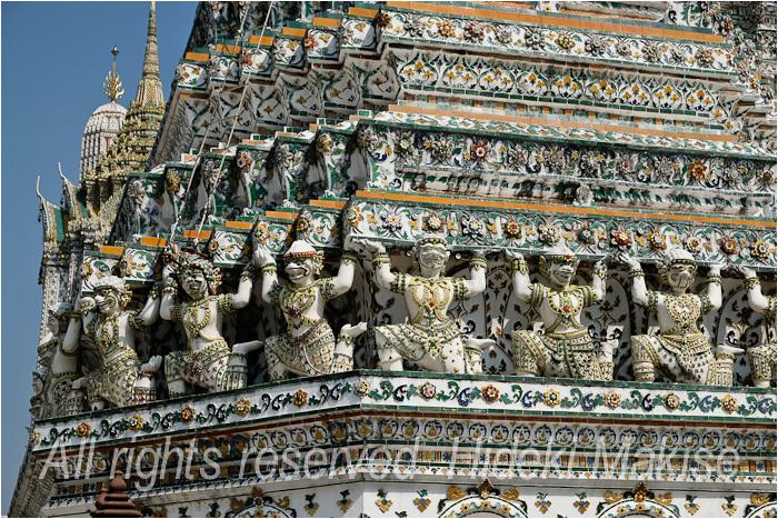 インドシナ周遊の旅 Ⅱ(34)タイ(16)バンコク(6)暁の寺(2)_c0122685_14355703.jpg