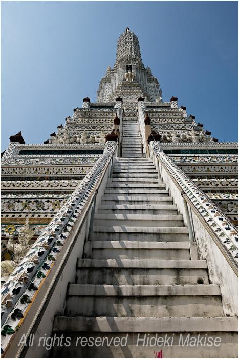 インドシナ周遊の旅 Ⅱ(34)タイ(16)バンコク(6)暁の寺(2)_c0122685_14355797.jpg