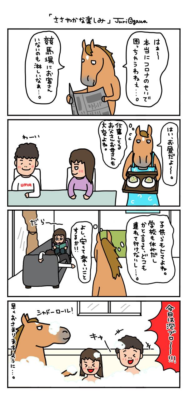 お母さんは競走馬 〜日常編〜_a0093189_07584423.jpg