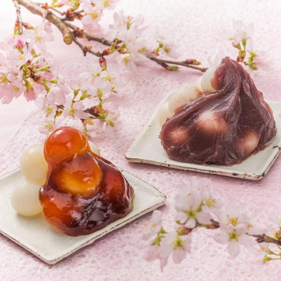 ◆滝桜花見だんご_e0218089_08333185.jpg