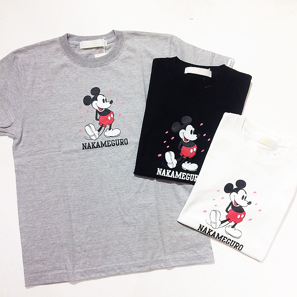 【DELIVERY】 Ablends - Diseny×Ablends Mickey NAKAMEGURO T_a0076701_18135332.jpg