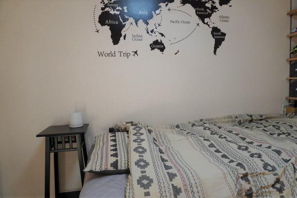 【ニトリ】子供部屋のベッドカバーを購入_e0408608_16541480.jpg