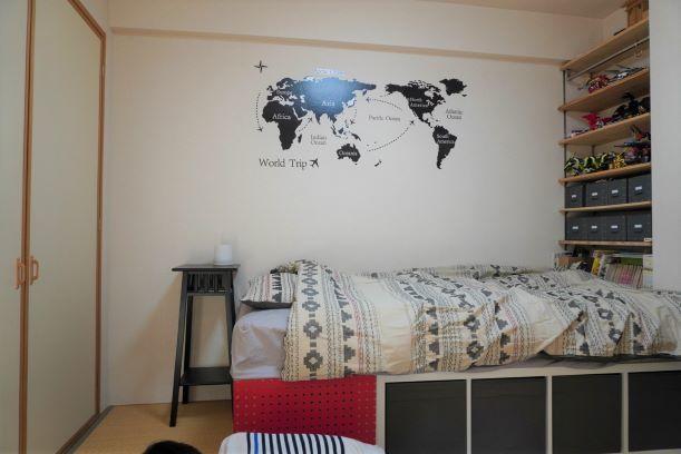【ニトリ】子供部屋のベッドカバーを購入_e0408608_16583028.jpg