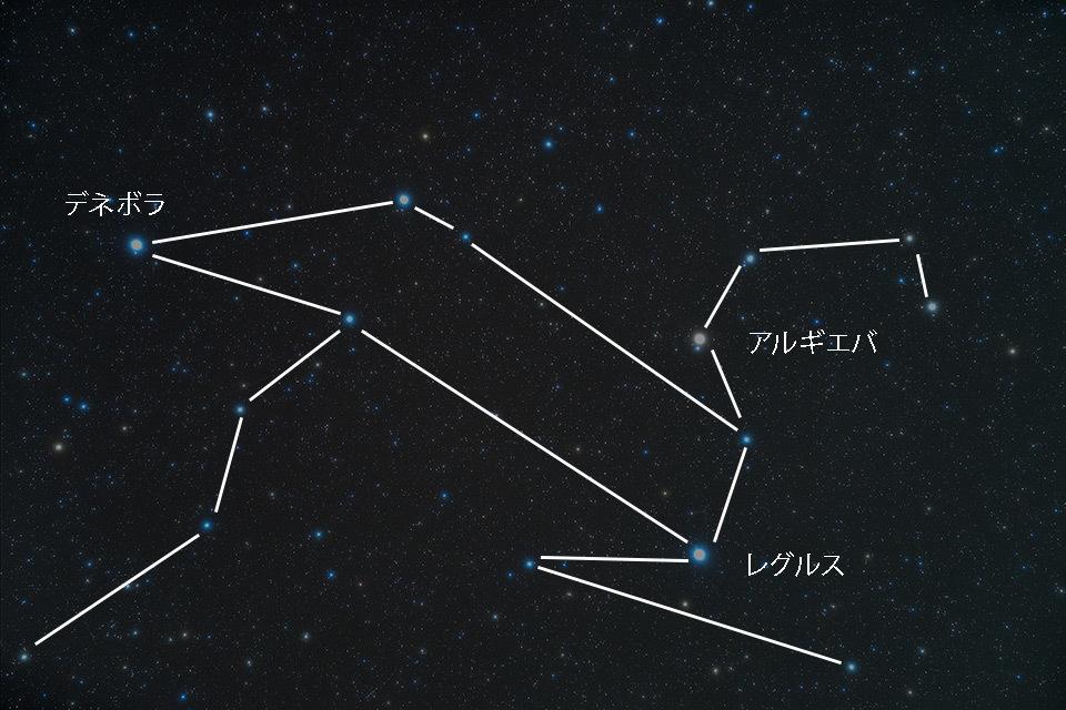 春の星座 しし座_d0383419_16411964.jpg