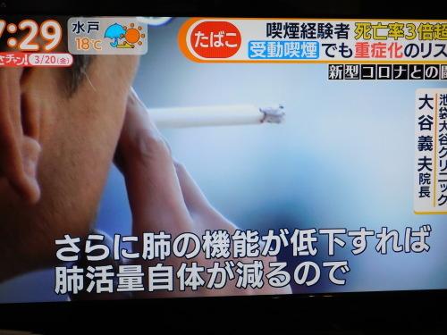 タバコで新型コロナウイルス感染リスク重症化リスク大_c0338136_18575741.jpg