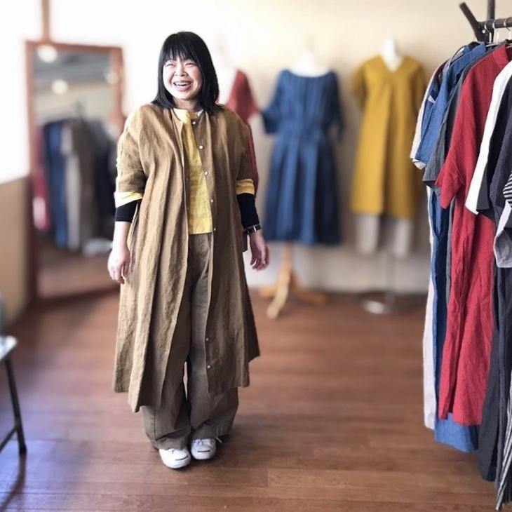 ヤンマのお洋服の受注会 やり過ぎ食堂3_b0237038_22415669.jpeg