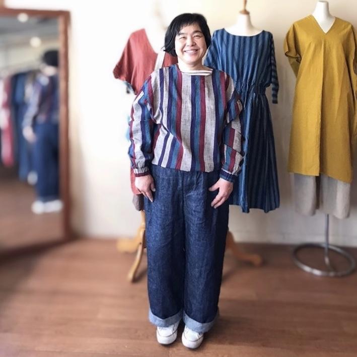 ヤンマのお洋服の受注会 やり過ぎ食堂3_b0237038_22425261.jpeg