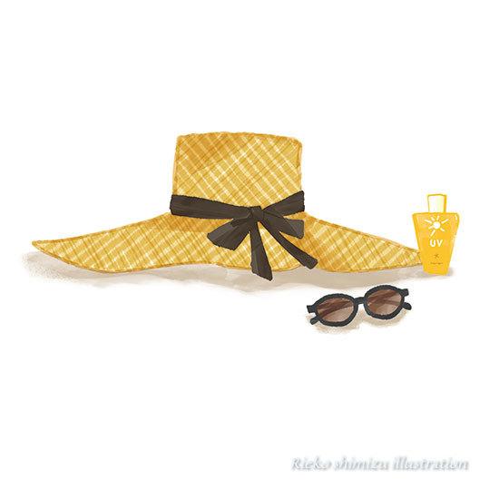 夏日--オリジナルイラスト_f0227738_19174990.jpg