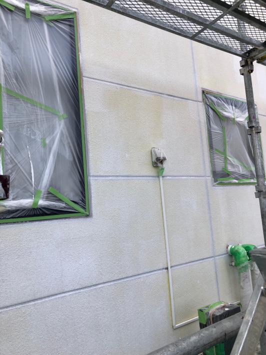 外壁塗装⑭鳥の子色の外壁_c0359445_17454180.jpg