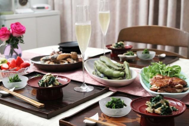 山菜と蕎麦_d0377645_00340814.jpg