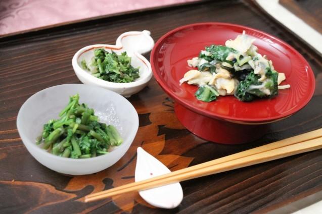 山菜と蕎麦_d0377645_00341277.jpg