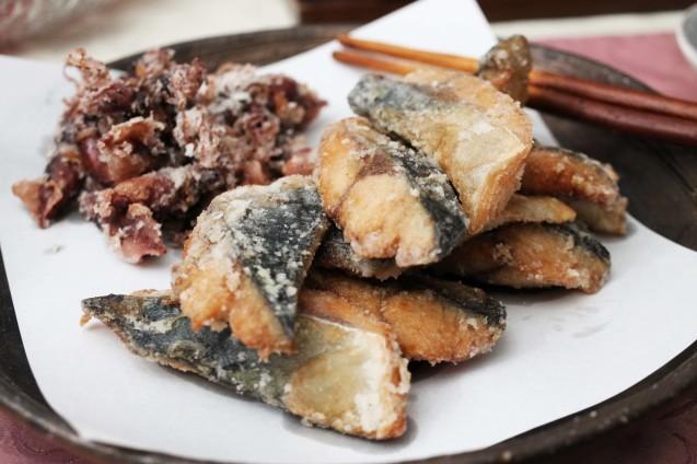 山菜と蕎麦_d0377645_00342483.jpg