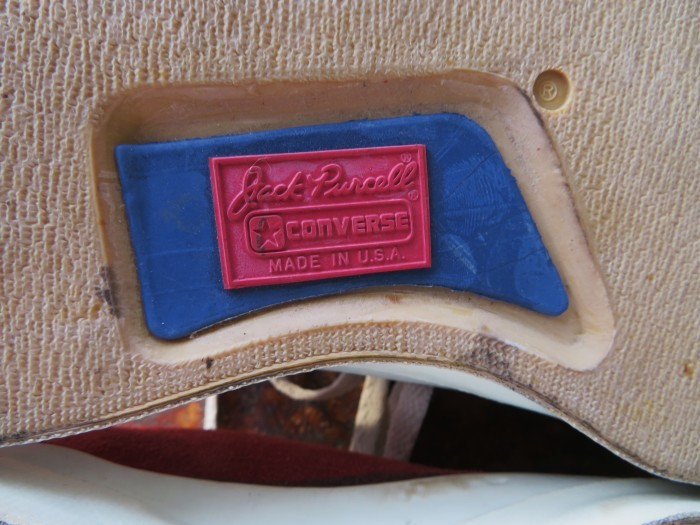 90\'s Made in U.S.A. CONVERSE Jack Purcell Suede アメリカ製 コンバース ジャックパーセル_e0187362_11482428.jpg