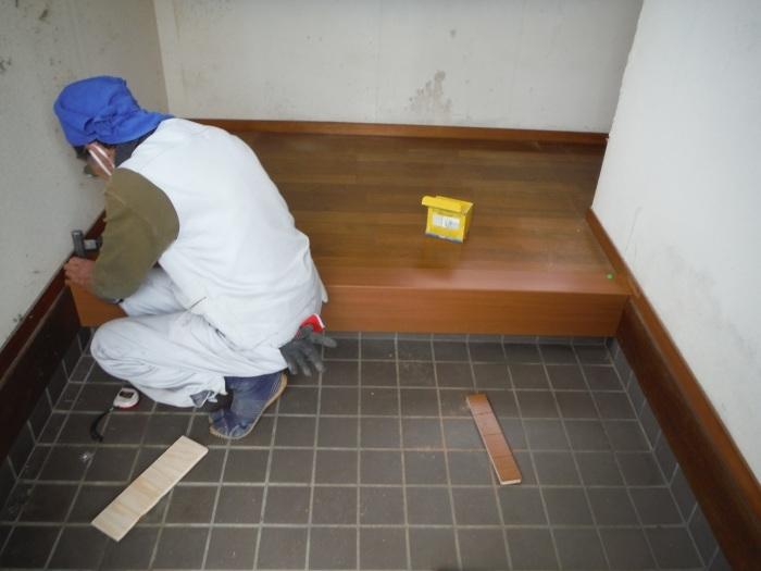 床断熱他 ~ 廊下工事で終了となりました。_d0165368_04362421.jpg