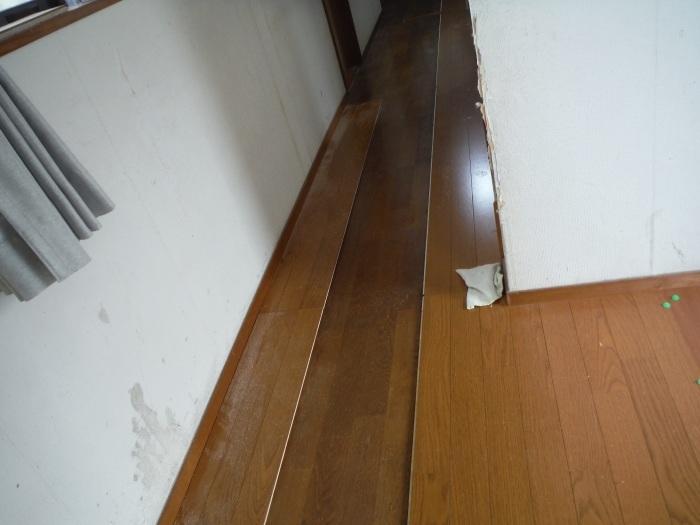 床断熱他 ~ 廊下工事で終了となりました。_d0165368_04363417.jpg