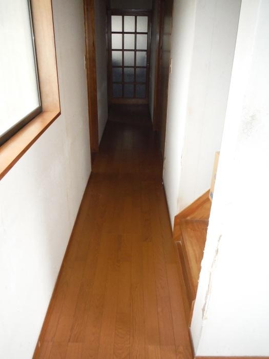 床断熱他 ~ 廊下工事で終了となりました。_d0165368_04365588.jpg