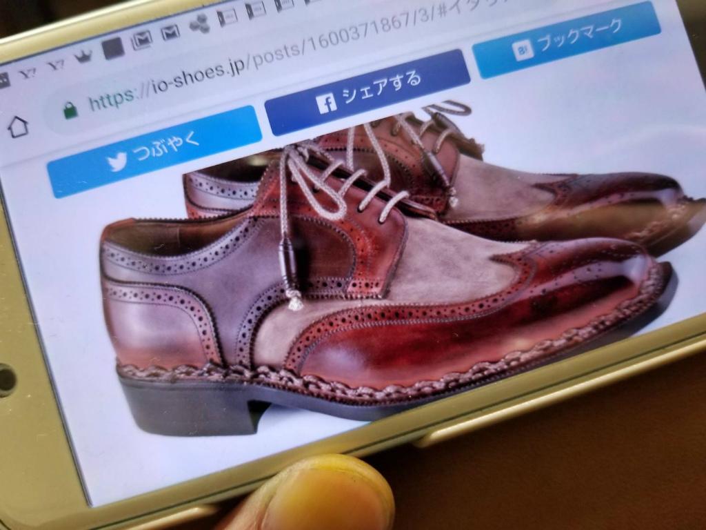 ブログ『トリコロールの靴~先染めと言う技。。。手段?』_b0365069_17434158.jpg