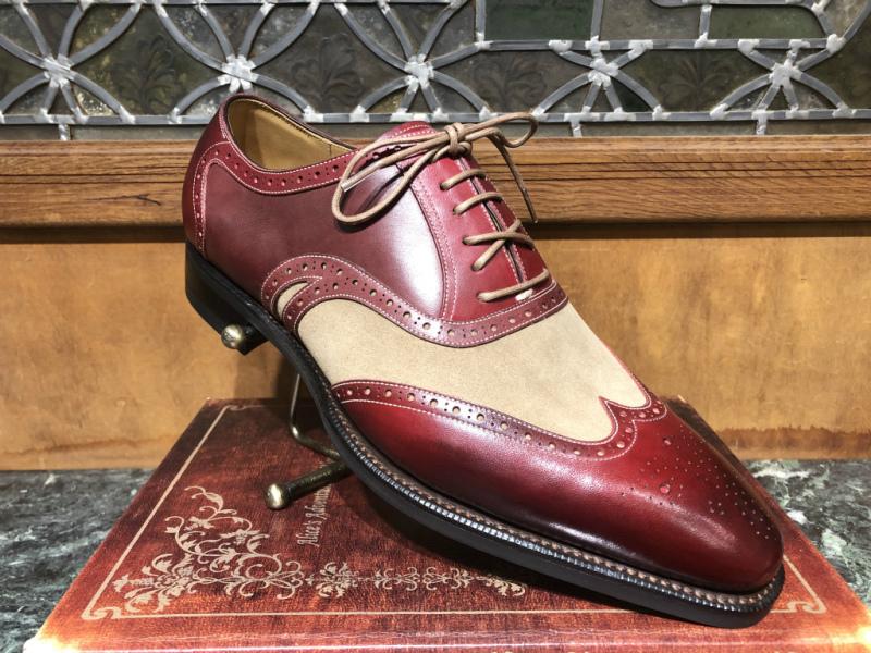 ブログ『トリコロールの靴~先染めと言う技。。。手段?』_b0365069_17452426.jpg