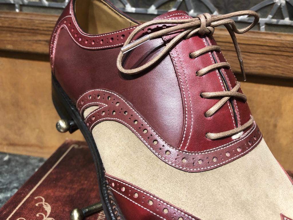 ブログ『トリコロールの靴~先染めと言う技。。。手段?』_b0365069_17454500.jpg