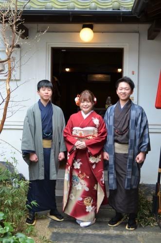 成人式前撮り 3姉弟の和装(*^^)_d0230676_15274127.jpg