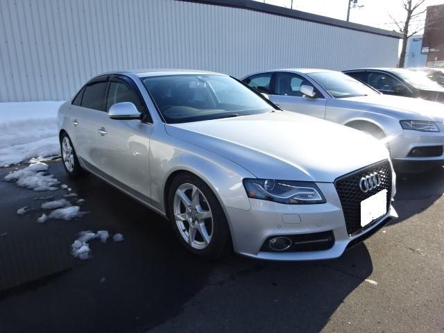 ハンドルが重かったり軽かったり・・B8 Audi A4_c0219786_17440854.jpg