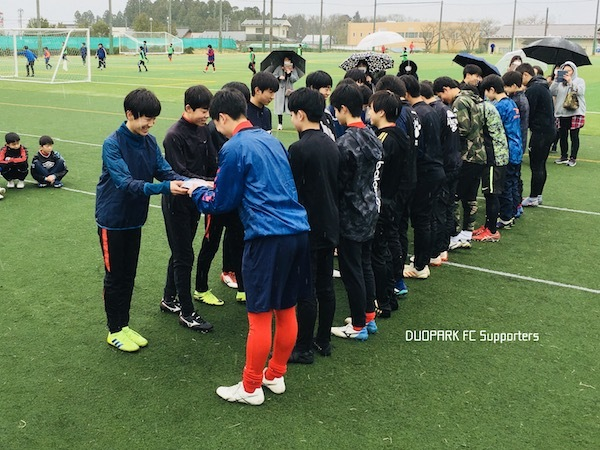 DUOPARK FC U-15 卒団イベント March 22, 2020_c0365198_13510312.jpg