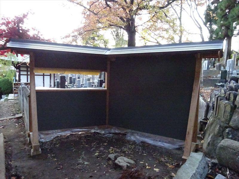 お寺の塀の建て替え工事 完成しました!_f0105112_04243290.jpg