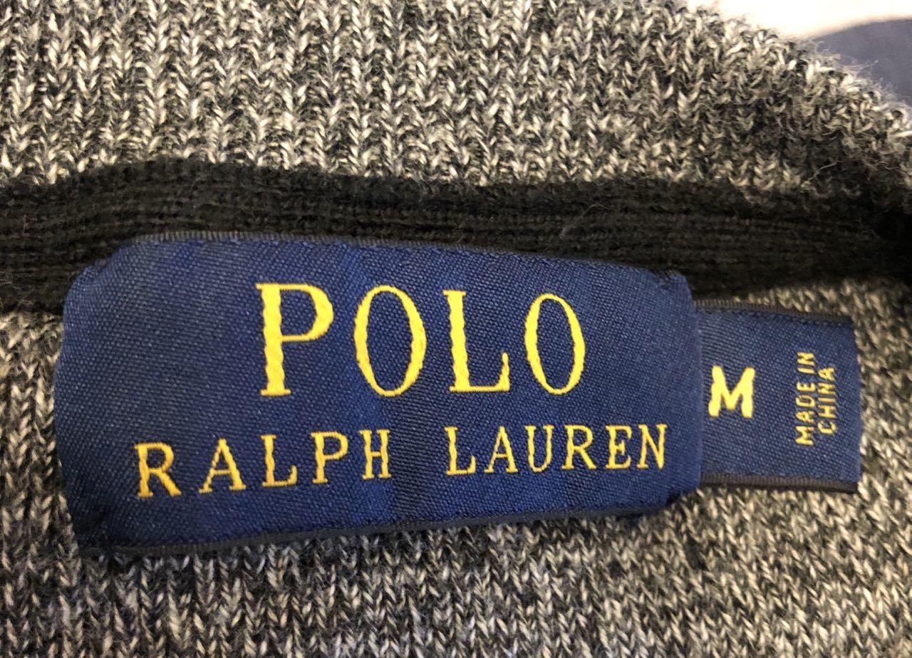 3月23日(月)入荷!Polo Ralph Lauren ラルフローレン  ソルトアンドペッパー スエットシャツ!_c0144020_13172654.jpg