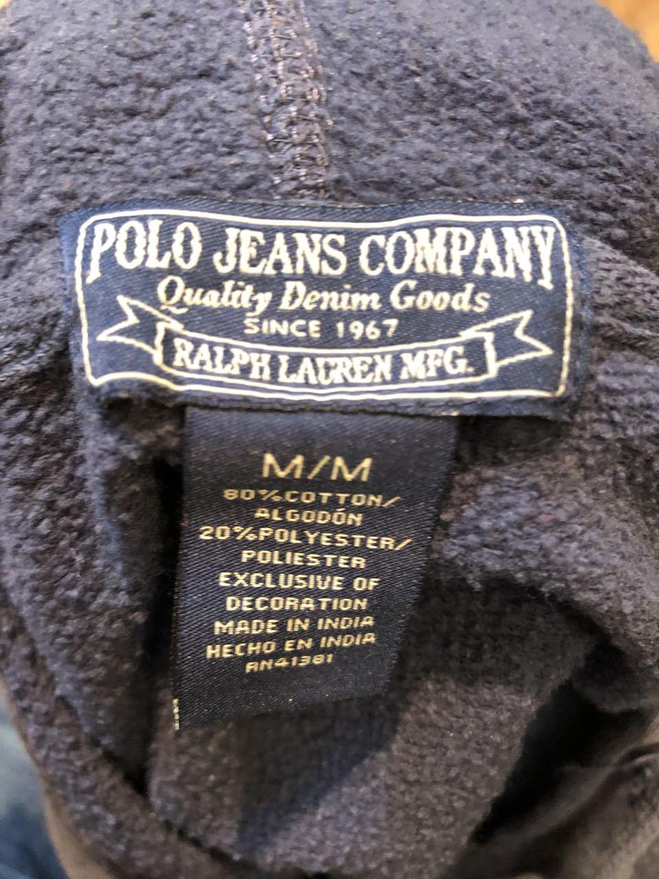 3月23日(月)入荷! Polo Jeans Hoodie!!_c0144020_13204281.jpg
