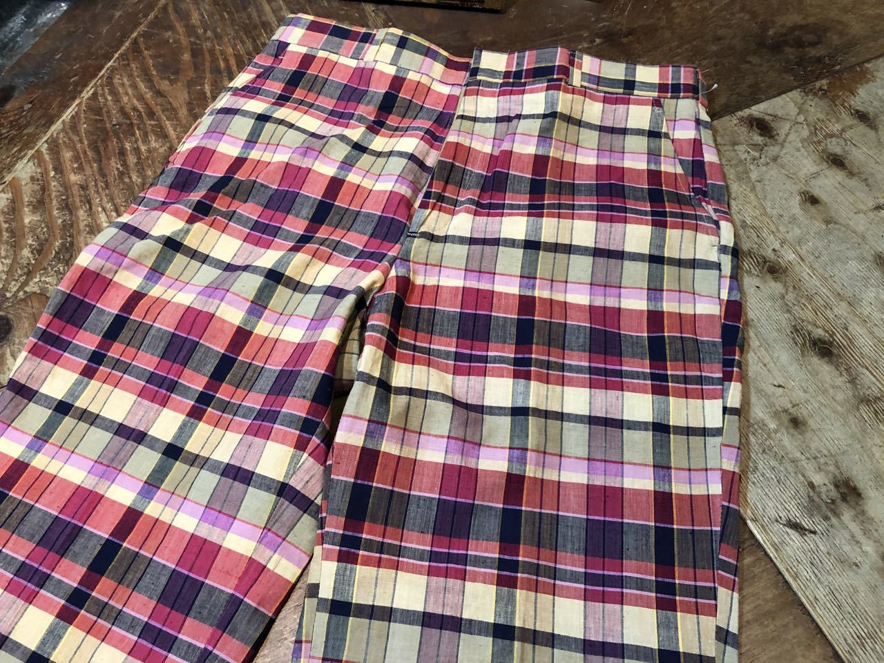 3月23日(月)入荷!80s  デッドストック Made in U.S.A インディアンマドラス IVY スラックス!_c0144020_13254759.jpg