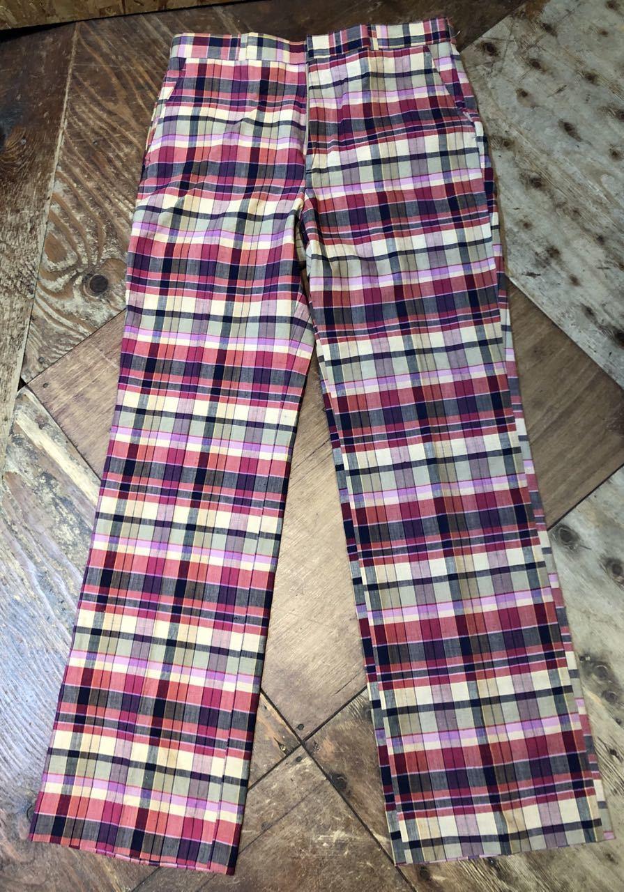 3月23日(月)入荷!80s  デッドストック Made in U.S.A インディアンマドラス IVY スラックス!_c0144020_13254994.jpg